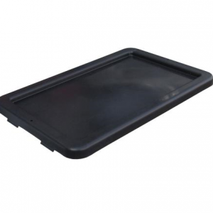 EconoStore Large Plastic Lid to Suit 32L, 52L and 68L Crates Black