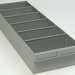 econostore extra large spare parts tray grey