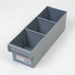 econostore small spare parts tray grey