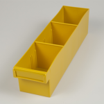 econostore medium spare parts tray yellow