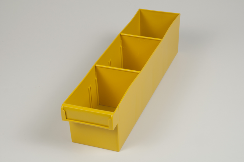 econostore medium spare parts tray yellow