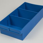 econostore large spare parts tray blue