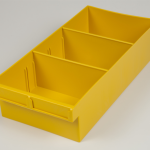 econostore spare parts tray large yellow