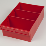 econostore int spare parts tray red