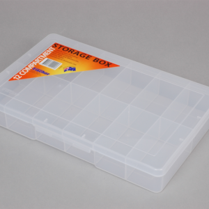 econostore Large 12 Compartment Storage Box