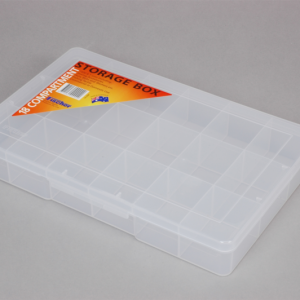 econostore Large 18 Compartment Storage Box