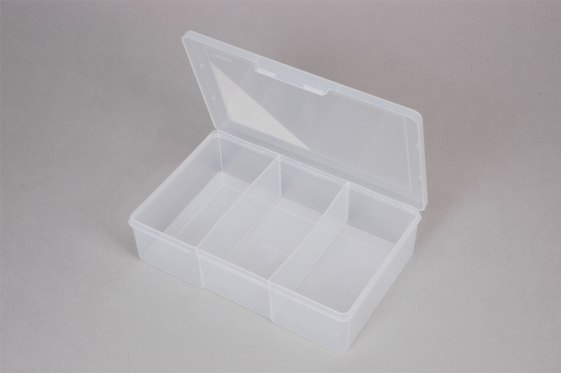 econostore Large 3 Compartment Storage Box Deep. ? & Large 3 Compartment Storage Box Deep - Econo Storage Systems - The ...