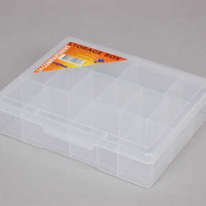 econostore Medium 14 Compartment Storage Box