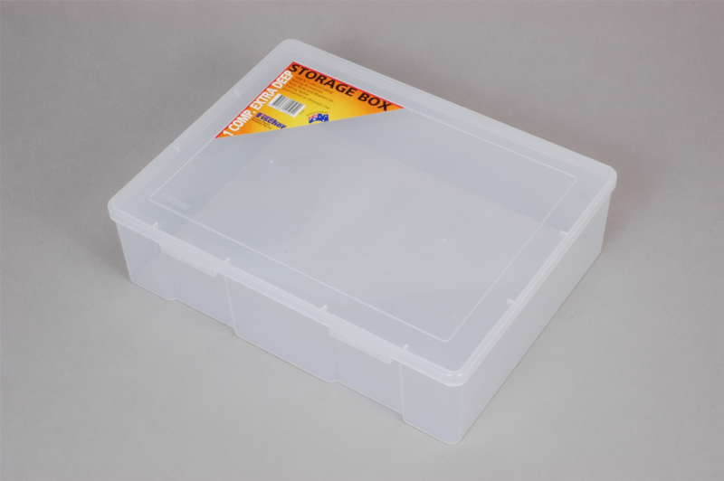 econostore Extra Large 1 Compartment Storage Box Deep
