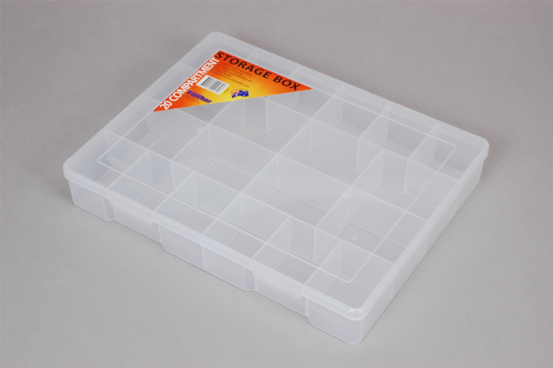 Extra Large 20 Compartment Storage Box