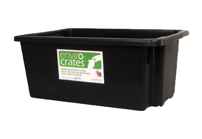 Recycled Tubs and Crates
