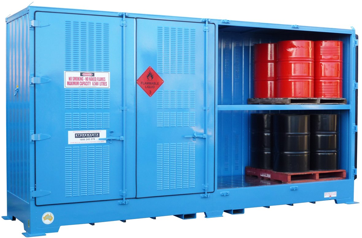 Bulk Dangerous Goods Storage Econo Storage Systems The