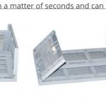econostore 12L, 17L, 33L, 41L Folding crate
