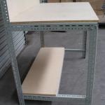 econostore Large Handy Angle workbench with backboard