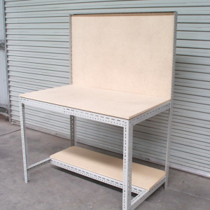 econostore Large/ Small Handy Angle workbench with backboard