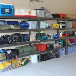 econostore industral shelving unit triple bay