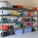 econostore industrial shelving unit double