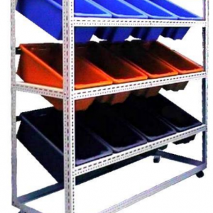 econostore mobile crate rack