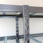 econostore industrial shelving unit detail