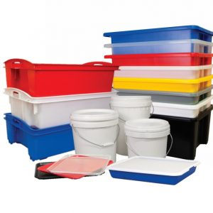 Crates, Trays, Tubs and Pails