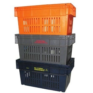econostore 84L Vented Produce Crate