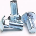 """econostore 1/4"""" Carriage bolt M6 nuts and bolts"""